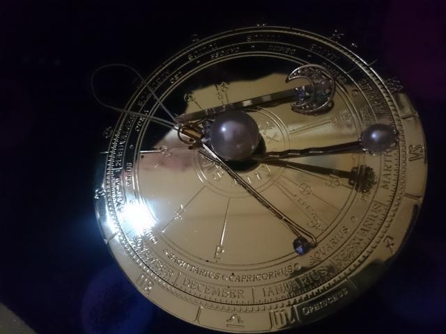 占星術に用いるホロスコープ