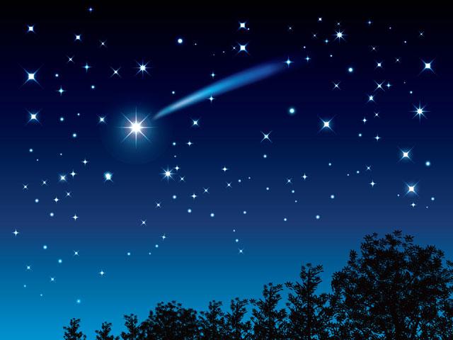数多の星座が浮かぶ満点の星空