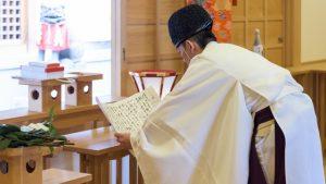 祈祷の儀式イメージ