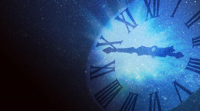 過去から続く時間の流れをイメージ