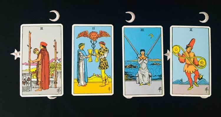 タロットに用いるカードの絵柄